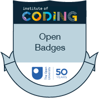 Institute of Coding - Open Badge icon