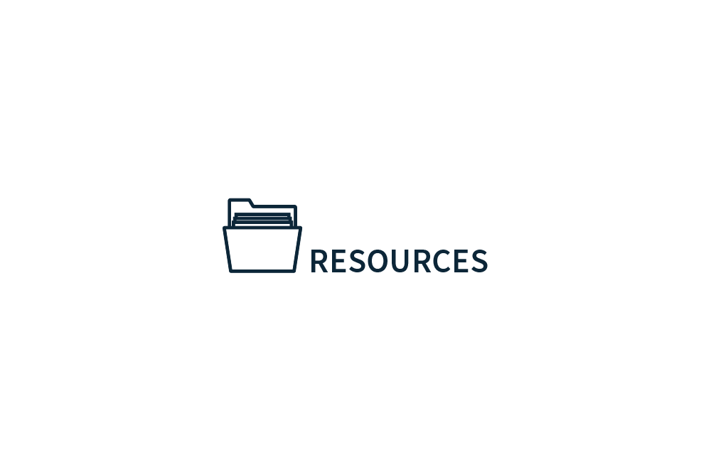 Resources section folder icon
