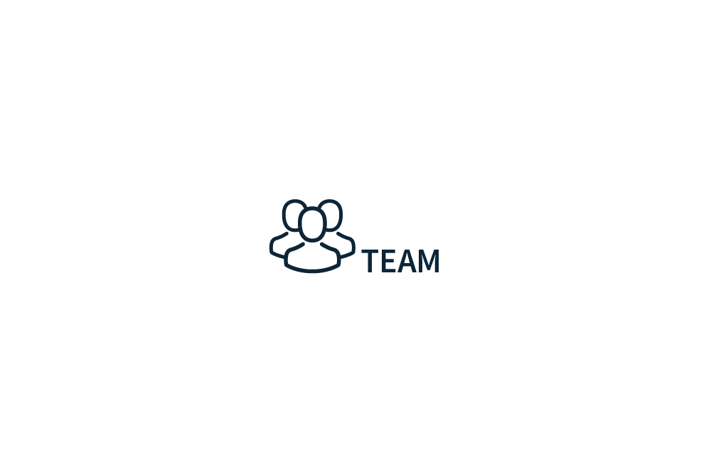 Team section people group icon